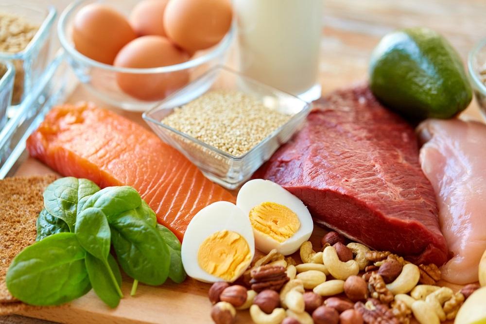 Kies voor eiwitten en vezels